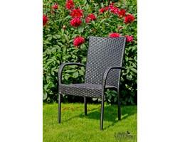 Krzesło z technorattanu do ogrodu