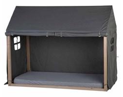CHILDHOME Pokrowiec na domek nad łóżko, 210x100x150 cm, antracytowy