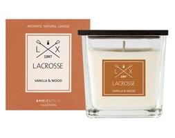 Świeca zapachowa VANILLA & WOOD 8x8 cm - Lacrosse  - DECOSALON - 100% zadowolonych klientów!