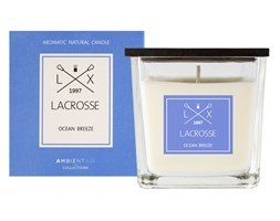 Świeca zapachowa OCEAN BREEZE 8x8 cm - Lacrosse  - DECOSALON - 100% zadowolonych klientów!