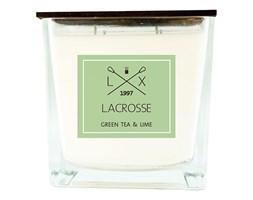 Świeca zapachowa GREEN TEA & LIME 15x15 cm - Lacrosse  - DECOSALON - 100% zadowolonych klientów!