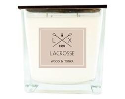 Świeca zapachowa Wood & Tonka 15x15 cm - Lacrosse  - DECOSALON - 100% zadowolonych klientów!