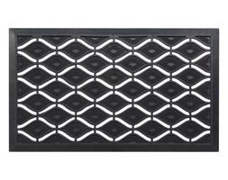 c2d3fd40 Wycieraczka zewnętrzna KRIS 45 x 75 cm gumowa czarna INSPIRE