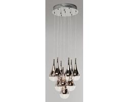 Kare design :: Lampa wisząca Falling Drops Silver 10-lite