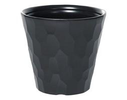 Doniczka plastikowa 29.3 cm antracytowa ROCKA PROSPERPLAST