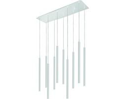 Lampa wisząca LASER X NOWODVORSKI styl designerski biały stal lakierowana 8922