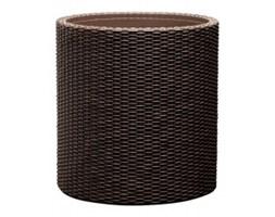 Keter Medium Cylinder Planter brązowa
