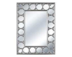 LUSTRO VENEZIA w srebrnej ramie prostokąt 103X139
