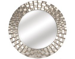 LUSTRO SELENE szampańskie srebro okrągłe FI 90