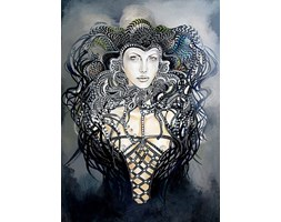 giclee - Faust - Popdivy - 60x90 cm