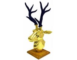 Figurka głowa jelenia 46cm Miloo Home Modern Loft złota kod: ML6231