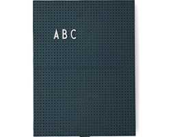 Tablica Design Letters A4 zielona