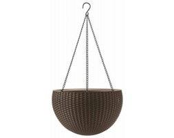 Keter Hanging Sphere Planter jasnobrązowa  230502