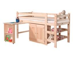 Łóżko piętrowe Bed z biurkiem i komodą