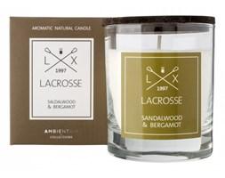 Świeca zapachowa SANDALWOODamp;BERGAMOT Lacrosse kod: ZVV040SBLC