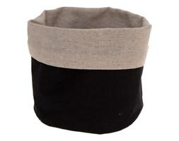 Koszyk na chleb, tekstylny, dwukolorowy, 15 x 18 cm, Secret de Gourmet