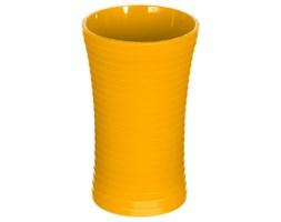 Pojemnik na szczoteczki do zębów kubek 5five Simple Smart Stripe żółty