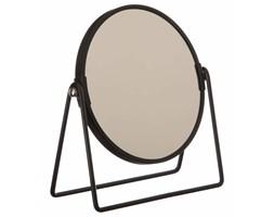 Lusterko kosmetyczne, stojące, składane, Ø17 cm, kolor czarny