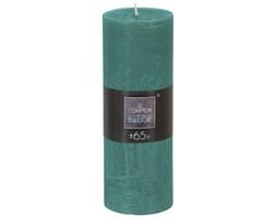 Świeca dekoracyjna zielona 6,7x 18,9 cm