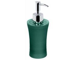 Dozownik do mydła w płynie, zielony, srebrna pompka, 5five Simple Smart