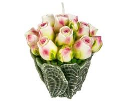 Świeczka dekoracyjna BUKIET RÓŻ, różowe kwiaty, Atmosphera