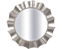 LUSTRO SOLE w srebrne ramie okrągłe FI 85