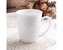 Kubek porcelanowy DUO HEMINGWAY 300 ml -- biały - rabat 10 zł na pierwsze zakupy!
