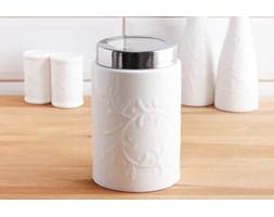 Pojemnik ceramiczny DUO HEMINGWAY 0,7 l -- biały - rabat 10 zł na pierwsze zakupy!