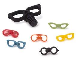 Korek do butelek i oznaczenia kieliszków Glasses