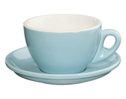 CILIO ROMA Filiżanka do cappuccino ze spodkiem 100 ml / błękitna / FreeForm