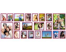 Multirama Olivia na 20 zdjęć z szablonem
