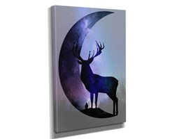 Obraz Forest moon deer