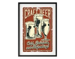 Plakat w ramie CRAFT BEER