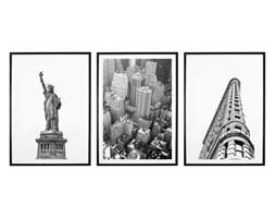 Tryptyk New York City - Plakaty w ramach (3x 30x40cm)