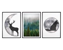 Tryptyk Forest 4 - Plakaty w ramach (3x 30x40cm)
