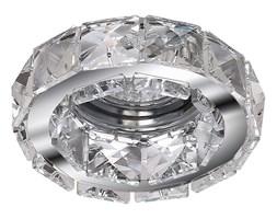 Azzardo AZ1449 - Oprawa wpuszczana kryształowa ESTER 1xGU10/50W/230V