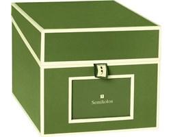 Pudełko na zdjęcia i płyty CD Die Kante ciemnozielone