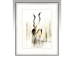 Elegancki obraz żurawi, symbol szczęścia - Harmonia, Seria Ulotna.