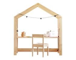 Biurko Young dziecięcy domek z drewna