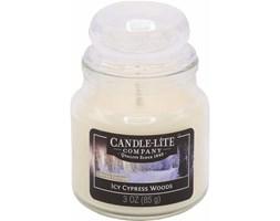 Świeca zapachowa Candle-lite świeczka 85 g - Icy Cypress Woods