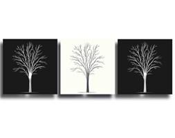 Obraz TRYGVE Czarno - Biały 150x50 cm
