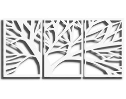 Obraz TRYM Biały 140x70 cm