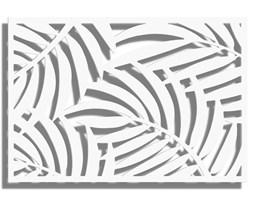 Obraz LEIF Biały 120x80 cm