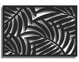 Obraz LEIF Czarny 120x80 cm
