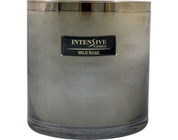 INTENSIVE COLLECTION 100% Soy Wax Luxury Candle Glass XXL1 luksusowa świeca zapachowa sojowa w szkle - Wild Rose