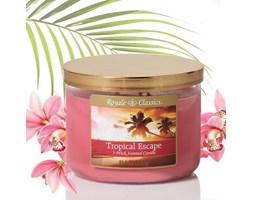 Świeca zapachowa Candle-lite trzy knoty - Tropical Escape