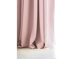DecoKing - Zasłony Welurowe Pudrowo różowe Gładkie PIERRE 140cm x 270cm