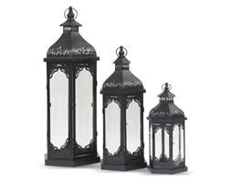 HOLI komplet trzech metalowych lampionów, wys. 80, 60, 42 cm