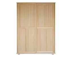 Sosnowa szafa z przesuwanymi drzwiami Klasyk SF-06