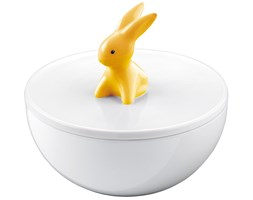 Porcelanowe pudełko Orange Sunrise Bunny de Luxe